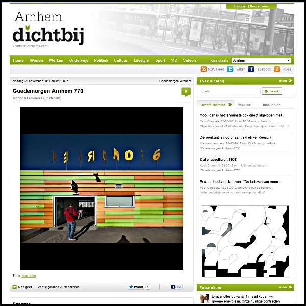 Arnhem Dichtbij